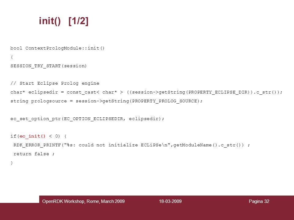 init() [1/2] bool ContextPrologModule::init() {